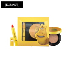 CELLEANSER Larva Yellow Makeup Duo Set [LARVA Limited Edition],CELLEANSER